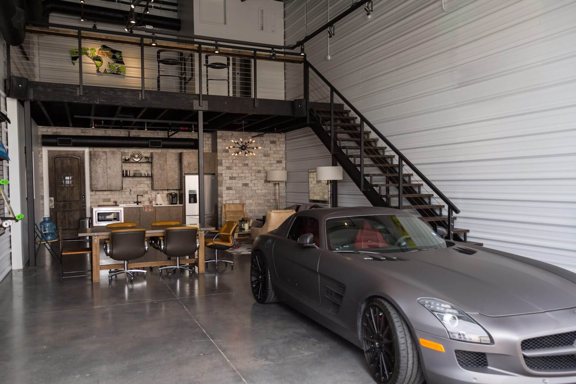 Garages of texas for 2 car garage man cave
